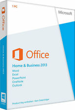 Microsoft Office Home and Business 2013 - 1 PC