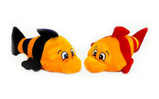 """New Cuddly & Huggable Friendly Comical Fish 13"""" Soft Toy Bright Coloured Plush"""
