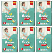 "PAMPERS Windeln Pants Junior ""5"" Sparpack Bis 288 Stk +64 Pampers Feuchttücher"