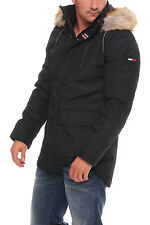 Tommy Hilfiger Denim Technical Parka Jacke Jacket Winterjacke Schwarz