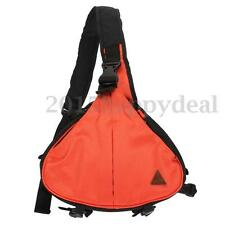 Orange Waterproof Camera Messenger Shoulder Bag DSLR F. Canon Nikon Sony Pentax