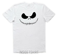 JACK SKELETON T-SHIRT nightmare before christmas skeleton halloween - KOOL MAN