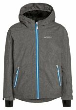 ICEPEAK Skijacke Winter Jacke HARRY JR in Grau / Melange mit Blau 2016/17