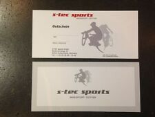 COUPON Gift voucher Value voucher S-TEC-SPORTS Bike parts bike