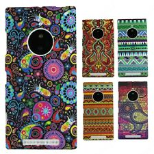 Heartly Aztec Print Tribal Matte Style Thin Hard Back Case Cover Nokia Lumia 830