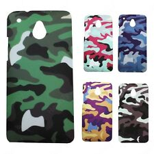 Heartly Army & Strip Style Retro Matte Thin Hard Back Case Cover HTC One M4 Mini