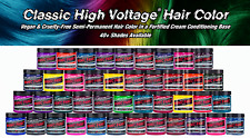 MANIC PANIC HAIR DYE Semi-Permanent Cream Formula  Jar 118ml/4 oz, 23 Variations