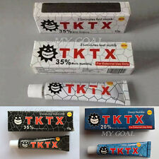 10g TKTX 35% More Numbing Anesthetic Eyebrow Fast Deep Numbs Tattoo Cream
