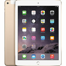 Apple iPad Air 2 64GB, Wi-Fi + 4G, 9.7in Gold Tablet (MH172HN).