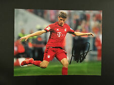 FOTO MULLER BAYER MONACO GERMANIA PHOTO AUTOGRAFATA AUTOGRAPH AUTHENTIC COA