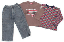 WE Jeans, NEW BASIC Langarm-Shirt und SCAMPS & BOYS Langarm-Shirt - 104