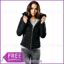Puffer Jacket Quilted Padded Bubble Winter Warm Coat Womens Ladies Size New ❤