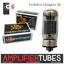 GOLDEN DRAGON 6550C Amplifier Power Tubes (SINGLE Valve, Matched PAIR & QUAD)