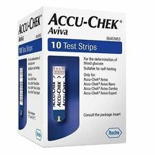 100 NEW ACCU-CHEK AVIVA BLOOD GLUCOSE TEST STRIPS, (2X50 STRIPS)