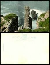 Northern Ireland Old Postcard CHIMNEY TOPS Giant's Causeway Rocks Cliffs, Antrim