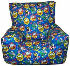 Paw Patrol Childrens Character Beanbag Bean Chair Blue