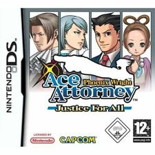 Phoenix Wright: Ace Attorney Justice for All Nintendo DS New