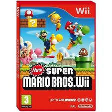 New Super Mario Bros Nintendo Wii New