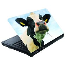 "LAPTOP AUFKLEBER 15"" Kuh 27x36cm Sticker Notebook Netbook Skin Folie Schutz 00"