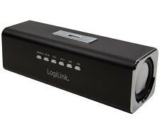 Speaker Portatile USB Soundbox con Lettore MP3 Radio MicroSD Nero