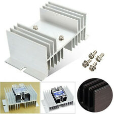 Aluminum Alloy Heat Sink For Solid State Relay SSR Heat Dissipation 40A