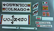 Kit adesivi decals compatibili Colnago  Mexico + columbus made in italy