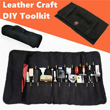 Leather Craft DIY Toolkit Pouch Hand Tools Storage Packing Bag
