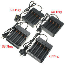 Universal 18650 4x Li-ion Rechargeable Battery Charger