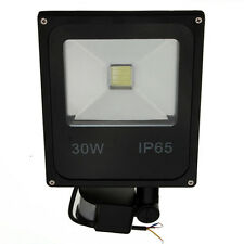 30W PIR Motion Sensor LED Flood Light IP65 Warm/Cold White Lighting