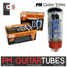 PM GUITAR EL34 /6CA7 Power Tubes / valves (SINGLE Tube, Matched PAIR & QUAD)