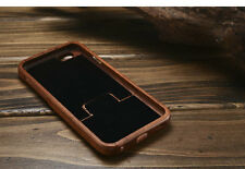 Real  Bamboo Wooden Carving Back case Cover for Apple Iphone 6 Plus 6s Plus