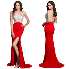 Beaded Formal Prom Evening Dress Long Ball Gowns Party Cocktail Bridesmaid Dress