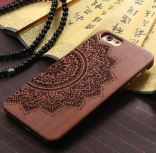 Original PURE Rose Wood Bamboo Luxury Hard Back Cover Case for iPhone 5 and 5S