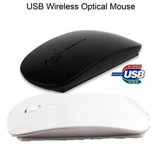 New Wireless USB Optical Cordless 2.4 GHz Scroll Mouse Compact For PC Laptop Mac