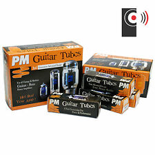 PM GUITAR Amplifier Power Tube RANGE - SINGLE Matched PAIR or Matched QUAD tubes