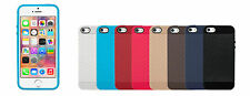 CUBIX Network Series Grip Tpu Soft Jacket Back Case Cover For Apple iPhone 5