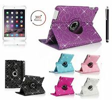 Bling 360° Giratorio Funda Soporte Inteligente para APPLE iPad2/3/4,Air1/2,Mini4