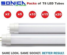 LED T8 Tube Light Lamp Retrofit Fluorescent Replacement 2ft 4ft 5ft up to x20