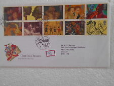 GB UK -GREETINGSSTAMPS1995 - FDC - uk074
