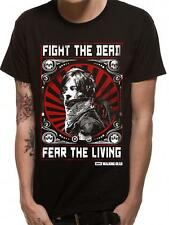 OFFICIAL LICENSED - WALKING DEAD - FIGHT THE DEAD T SHIRT DARYL DIXON ZOMBIE