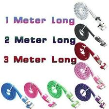 COLOURFUL LONG Usb Data Sync Charger Cable For iPhone 4 4S 3G 3GS iPad 2 iPod