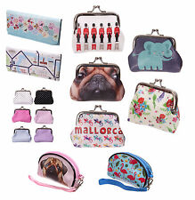 D22 - Large Folded Wallet, Mini Coin Purses & Small Make Up Bag Purse