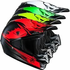 HJC CASCO CROSS ENDURO CS MX CS-MX MOTO GIALLO VERDE NERO BIANCO S - XL