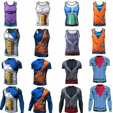 Comics Dragon Ball Z Camiseta Tank Top T-shirt Sin Mangas Manga Corta Larga Tee