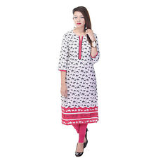 Indian Ethnic Pure Cotton Designer Printed Casual Wear Kurti Kurta VI_6066