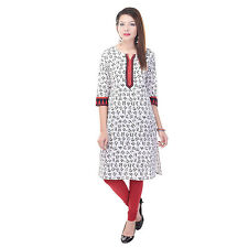 Indian Ethnic Pure Cotton Designer Printed Casual Wear Kurti Kurta VI_6064