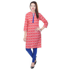 Indian Ethnic Pure Cotton Designer Printed Casual Wear Kurti Kurta VI_6061