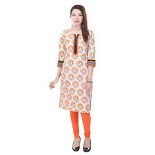 Indian Ethnic Pure Cotton Designer Printed Casual Wear Kurti Kurta VI_6060