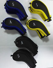 Golf Club Covers Neoprene Head Covers High Quality 10 Pcs Iron Protect Set