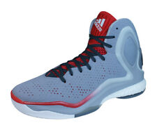 adidas D Rose 5 Boost Mens Basketball Sneakers High Top Shoes - Grey